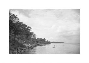 Vintage Photograph Woodside Wootton Isle Of wight