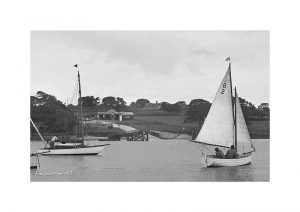 Vintage Photograph Fishbourne Isle Of wight