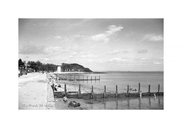 Vintage Photograph St Helens Isle Of Wight
