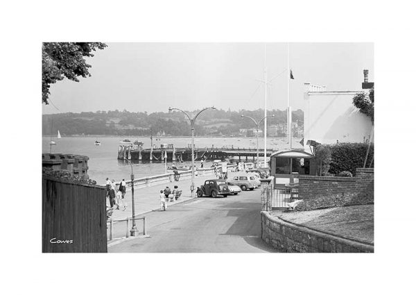 Vintage photograph Cowes Isle Of Wight