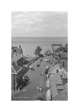 Vintage photograph Yarmouth Square Isle Of Wight