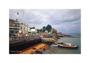Vintage photograph Cowes Parade Isle Of Wight