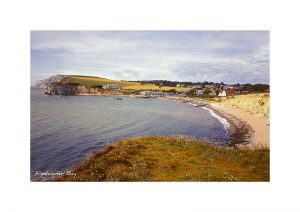 Vintage photograph Freshwater Bay Isle Of Wight