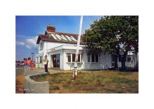 Vintage photograph The Folly Inn Isle Of Wight