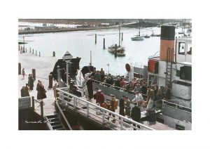 Vintage photograph of Yarmouth Isle Of Wight