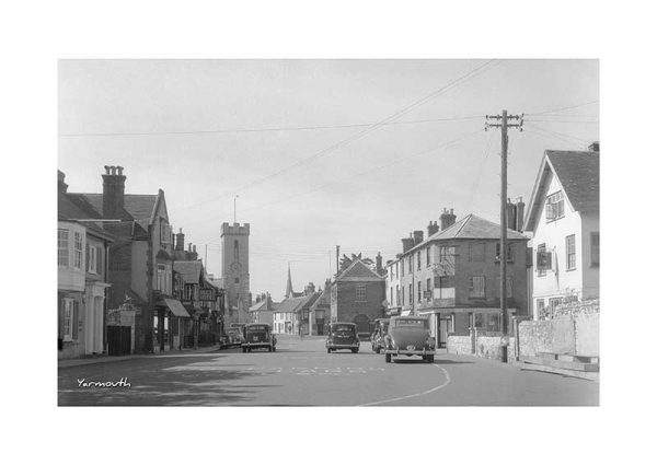 Vintage photograph Yarmouth Isle Of Wight