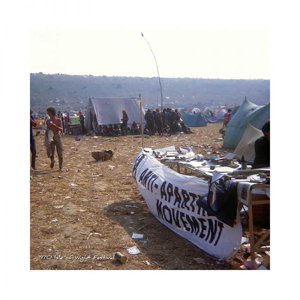 Vintage photograph 1970 isle Of Wight Festival