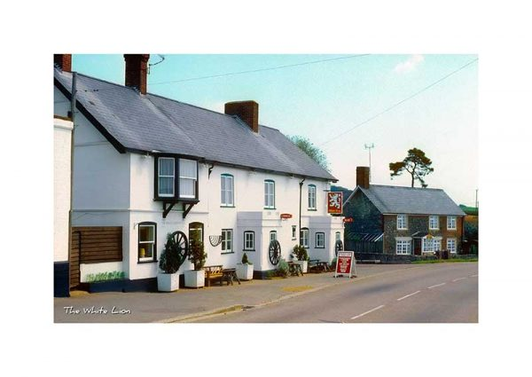 Vintage photograph The White Lion Arreton Isle Of Wight