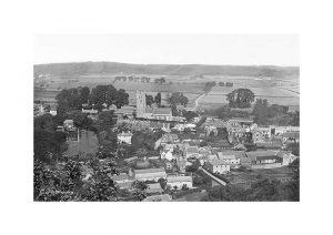 Vintage photograph Carisbrooke Isle Of Wight