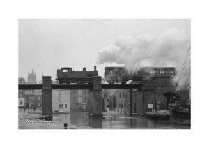 Vintage photograph Newport Quay Isle Of Wight