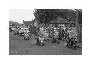 Vintage Photograph Salisbury Procession
