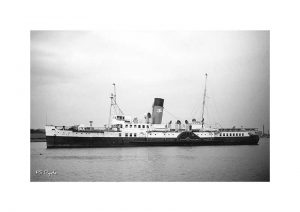 Vintage photograph PS ryde Isle Of Wight