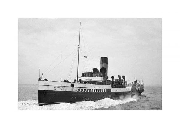 Vintage photograph PS Southsea