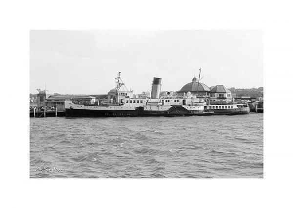 Vintage photograph Ps Sandown Isle Of Wight