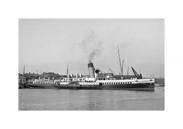 Vintage photograph Ps Whippingham Isle Of Wight