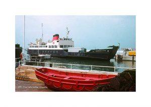 Vintage photograph of MV Carisbrooke Castle Isle Of Wight