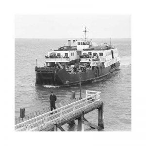 Vintage Photograph DEPV Farringford Isle Of Wight