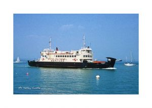 Vintage photograph of MV Netley Castle Isle Of Wight