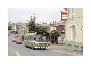 Vintage photograph Bus Ryde Isle Of Wight
