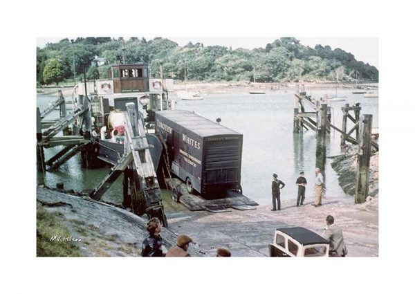 Vintage photograph MV Hilsea Isle Of Wight