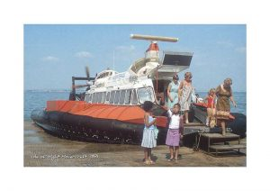 Vintage photograph Isle Of Wight Hovercraft Isle Of Wight