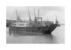 Vintage photograph MV Norris Castle Isle Of Wight