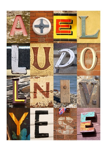 ALL YOU NEED IS LOVE, VINTAGE LETTERS, FINE ART PRINT, LIMITED EDITION PRINT
