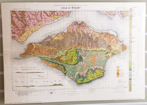 Isle of Wight Geological map