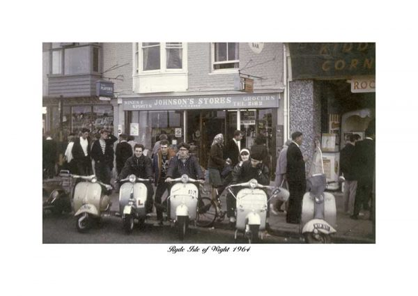 Ryde Esplanade Isle Of Wight Scooters 1964 Scooter Rally
