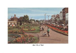 Western Gardens Ryde Esplanade Isle Of Wight Vintage Photograph