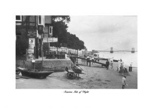 Vintage photograph Seagrove bay seaview isle of wight seaview pier