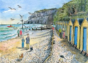 Maria Ward Artist Shanklin Print Isle Of Wight