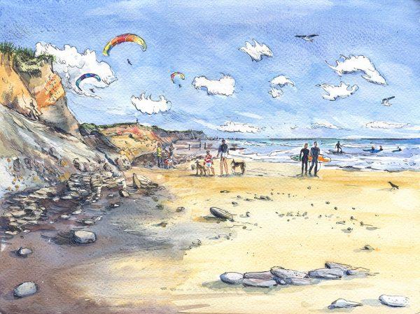 compton surfers isle of wight maria ward island artist