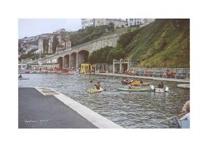 vintage photograph ventnor 1970 isle of wight