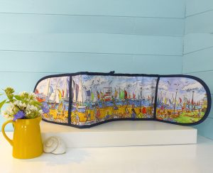 Cowes Racing oven glove kitchen essentials isle of wight Maria ward artist