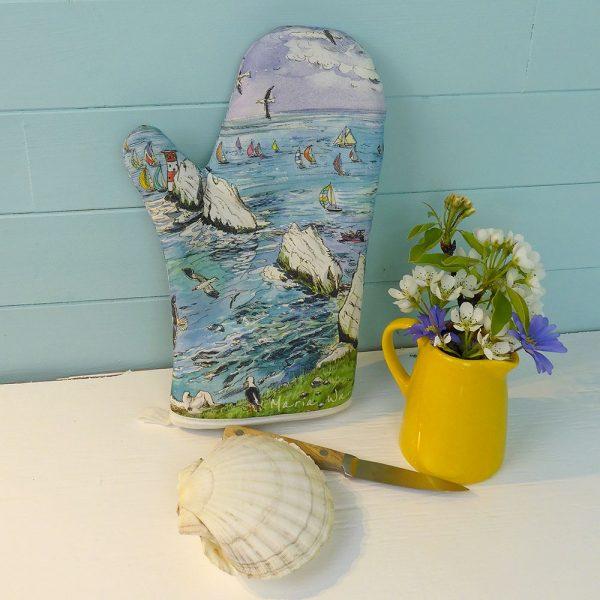 needles oven glove kitchen essentials isle of wight Maria ward artist