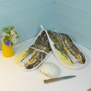 Steephill cove oven glove kitchen essentials isle of wight Maria ward artist