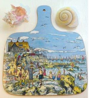 Maria ward seaview isle of wight chopping board