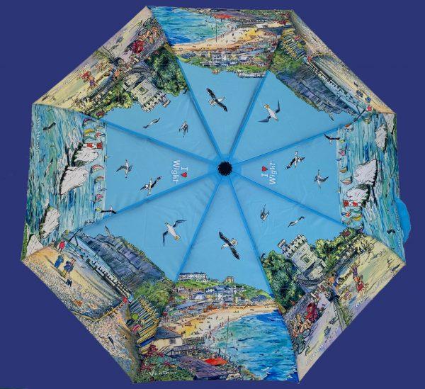 Maria ward isle of wight umbrella a seaside island blue the needles appley ventnor