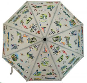 Maria ward isle of wight scenes umbrella